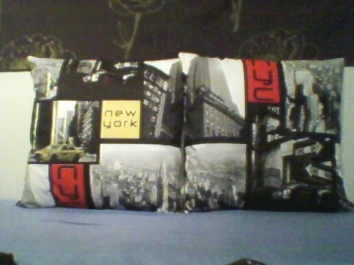 coussin New-York